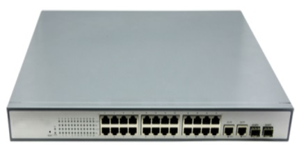 Switch quang PoE 24port
