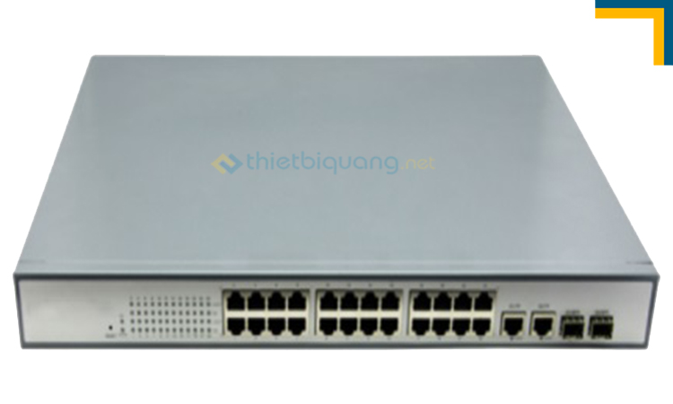 Switch quang PoE 24Port HHD-360GX/PGE